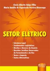 Capa do livro: Setor Elétrico, Clovis Alberto Volpe Filho e Maria Amália de Figueiredo P. Alvarenga