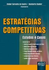 Capa do livro: Estratégias Competitivas, Organizadores: Cleber Carvalho de Castro e Humberto Stadler