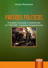 Capa do livro: Partidos Políticos, Orides Mezzaroba