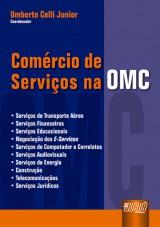 Capa do livro: Comércio de Serviços na OMC, Coordenador: Umberto Celli Junior