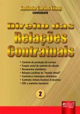Capa do livro: Direito das Relações Contratuais - nº 2, Coordenador: Antônio Carlos Efing
