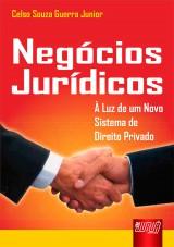 Capa do livro: Negócios Jurídicos, Celso Souza Guerra Junior