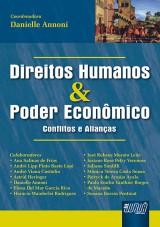 Capa do livro: Direitos Humanos & Poder Econômico - Conflitos e Alianças, Coordenadora: Danielle Annoni