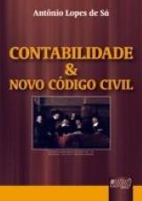 Capa do livro: Contabilidade e Novo C�digo Civil, Ant�nio Lopes de S�