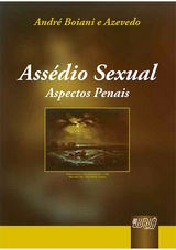 Capa do livro: Assédio Sexual - Aspectos Penais, André Boiani e Azevedo