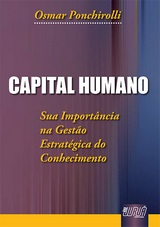 Capa do livro: Capital Humano, Osmar Ponchirolli