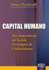 Capa do livro: Capital Humano, Osmar Ponchirolli