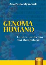 Capa do livro: Genoma Humano, Ana Paula Myszczuk