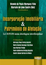 Capa do livro: Incorporação Imobiliária & Patrimônio de Afetação, Coords: Vicente de Paula Marques Filho e Marcelo de Lima Castro Diniz