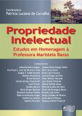 Capa do livro: Propriedade Intelectual - Estudos em Homenagem à Professora Maristela Basso, Coord.: Patrícia Luciane de Carvalho