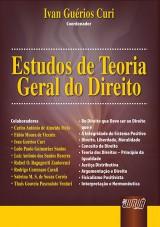 Capa do livro: Estudos de Teoria Geral do Direito, Coordenador: Ivan Guérios Curi