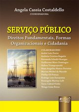 Capa do livro: Serviço Público, Coordenador: Angela Cassia Costaldello