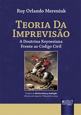 Capa do livro: Teoria da Imprevisão, Ruy Orlando Mereniuk