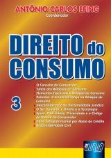 Capa do livro: Direito do Consumo - Nº 3, Coord.: Antônio Carlos Efing