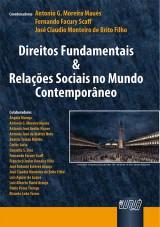 Capa do livro: Direitos Fundamentais & Relações Sociais no Mundo Contemporâneo, Coordenadores: Antonio G. Maués, Fernando Scaff e José Claudio de Brito