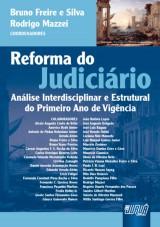 Capa do livro: Reforma do Judiciário, Coordenadores: Bruno Freire e Silva e Rodrigo Mazzei