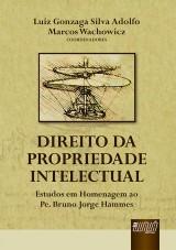 Capa do livro: Direito da Propriedade Intelectual - Vol. I, Coordenadores: Luiz Gonzaga Silva Adolfo e Marcos Wachowicz