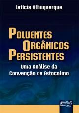 Capa do livro: Poluentes Orgânicos Persistentes, Letícia Albuquerque