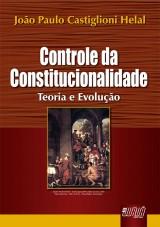 Capa do livro: Controle da Constitucionalidade, João Paulo Castiglioni Helal