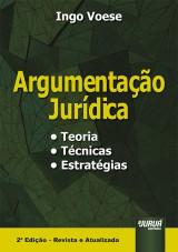 Capa do livro: Argumentação Jurídica, Ingo Voese