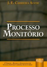 Capa do livro: Processo Monitório - Revista e Atualizada por Luciana Gontijo Carreira Alvim Cabral, J. E. Carreira Alvim