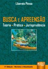Capa do livro: Busca e Apreensão, Liberato Póvoa