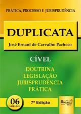 Capa do livro: Duplicata - PPJ Cível vol. 6, José Ernani de Carvalho Pacheco