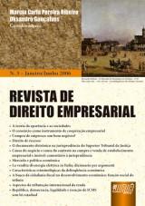 Capa do livro: Revista de Direito Empresarial, Marcia Carla Pereira Ribeiro e Oksandro Gonçalves