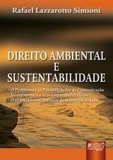 Capa do livro: Direito Ambiental e Sustentabilidade, Rafael Lazzarotto Simioni