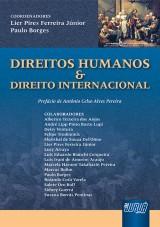 Capa do livro: Direitos Humanos & Direito Internacional, Coordenadores: Lier Pires Ferreira Júnior e Paulo Borges