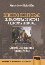 Capa do livro: Direito Eleitoral, Marcos Souto Maior Filho