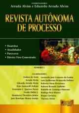 Capa do livro: Revista Autônoma de Processo - Número 1, Coordenadores: Arruda Alvim e Eduardo Arruda Alvim