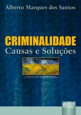 Capa do livro: Criminalidade, Alberto Marques dos Santos
