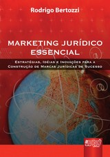Capa do livro: Marketing Jurídico Essencial, Rodrigo Bertozzi