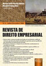 Capa do livro: Revista de Direito Empresarial - Nº 06 - Julho/Dezembro 2006, Coordenadores: Marcia Carla Pereira Ribeiro e Oksandro Gonçalves