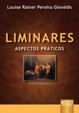 Capa do livro: Liminares, Louise Rainer Pereira Gionédis