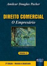 Capa do livro: Direito Comercial - O Empresário, Amilcar Douglas Packer