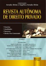 Capa do livro: Revista Autônoma de Direito Privado - Número 2, Coordenadores: Arruda Alvim e Angélica Arruda Alvim