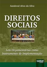 Capa do livro: Direitos Sociais - Leis Orçamentárias como Instrumento de Implementação, Sandoval Alves da Silva