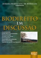Capa do livro: Biodireito em Discussão, Coordenadora: Jussara Maria Leal de Meirelles