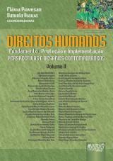 Capa do livro: Direitos Humanos - Volume II - Fundamento, Proteção e Implementação - Perspectivas e Desafios Contemporâneos, Coordenadoras: Flávia Piovesan e Daniela Ikawa