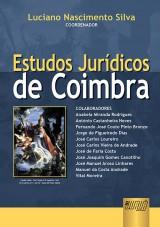 Capa do livro: Estudos Jurídicos de Coimbra, Coordenador: Luciano Nascimento Silva