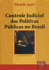 Capa do livro: Controle Judicial das Políticas Públicas no Brasil, Eduardo Appio