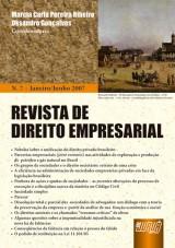 Capa do livro: Revista de Direito Empresarial - Nº 07 – Janeiro/Junho 2007, Coordenadores: Marcia Carla Pereira Ribeiro e Oksandro Gonçalves