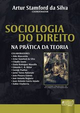 Capa do livro: Sociologia do Direito - Na Prática da Teoria - textos em português, inglês e espanhol, Artur Stamford da Silva