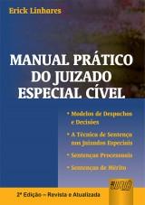 Capa do livro: Manual Prático do Juizado Especial Cível, Erick Linhares