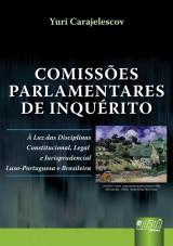 Capa do livro: Comissões Parlamentares de Inquérito, Yuri Carajelescov