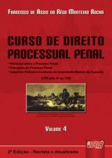 Capa do livro: Curso de Direito Processual Penal, Francisco de Assis do Rêgo Monteiro Rocha