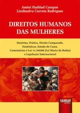 Capa do livro: Direitos Humanos das Mulheres, Amini Haddad Campos e Lindinalva Rodrigues Corrêa