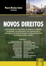 Capa do livro: Novos Direitos, Coordenador: Mauro Nicolau Júnior